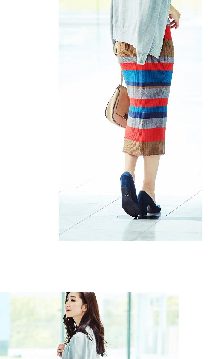 マルチボーダーIラインスカート6
