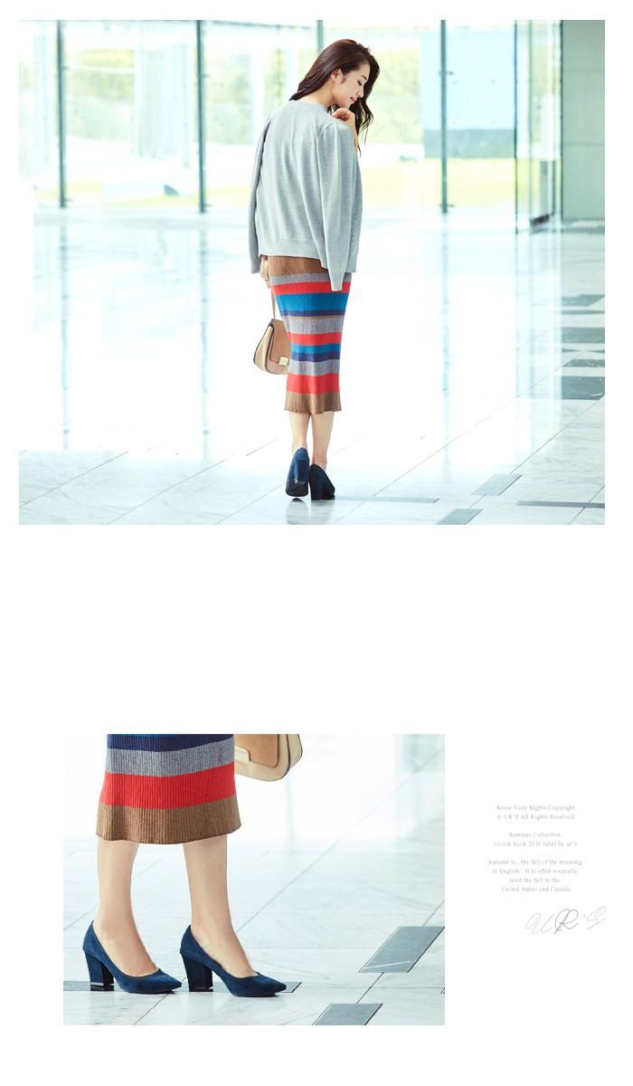 マルチボーダーIラインスカート9
