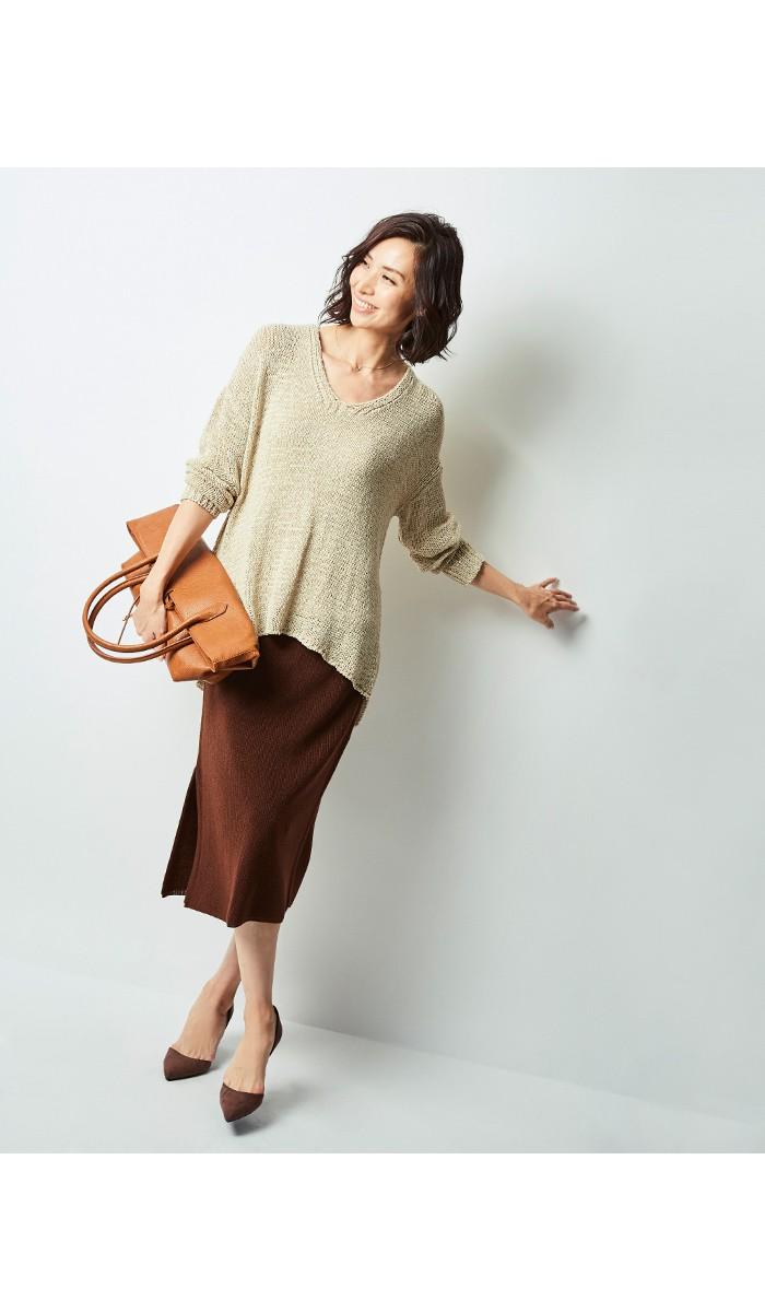 ニットタイトスカート5