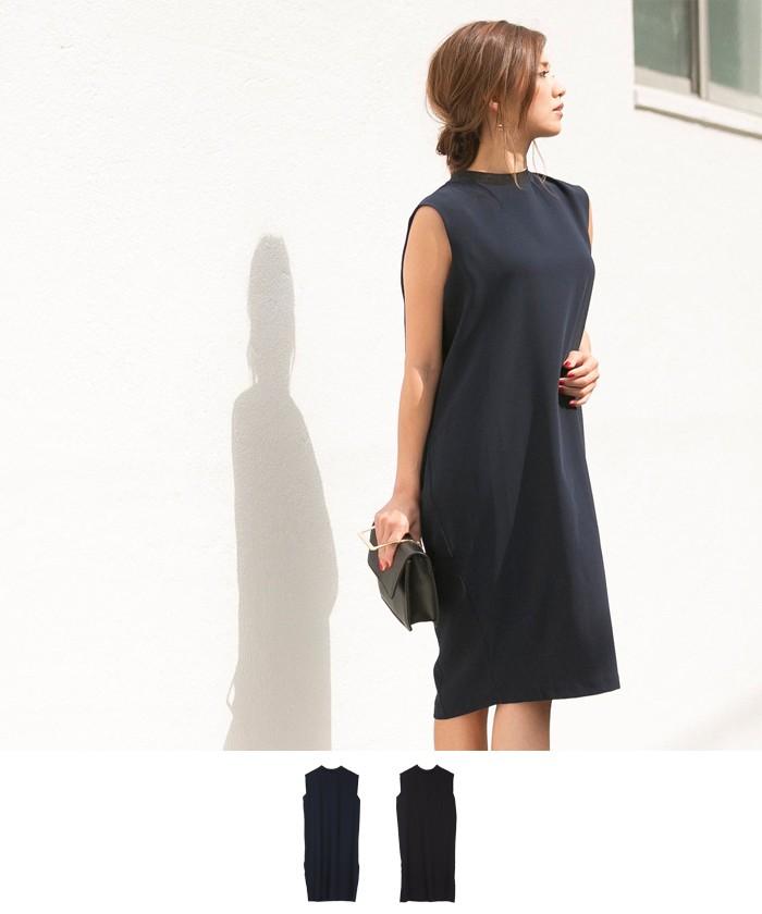 タックデザインドレス