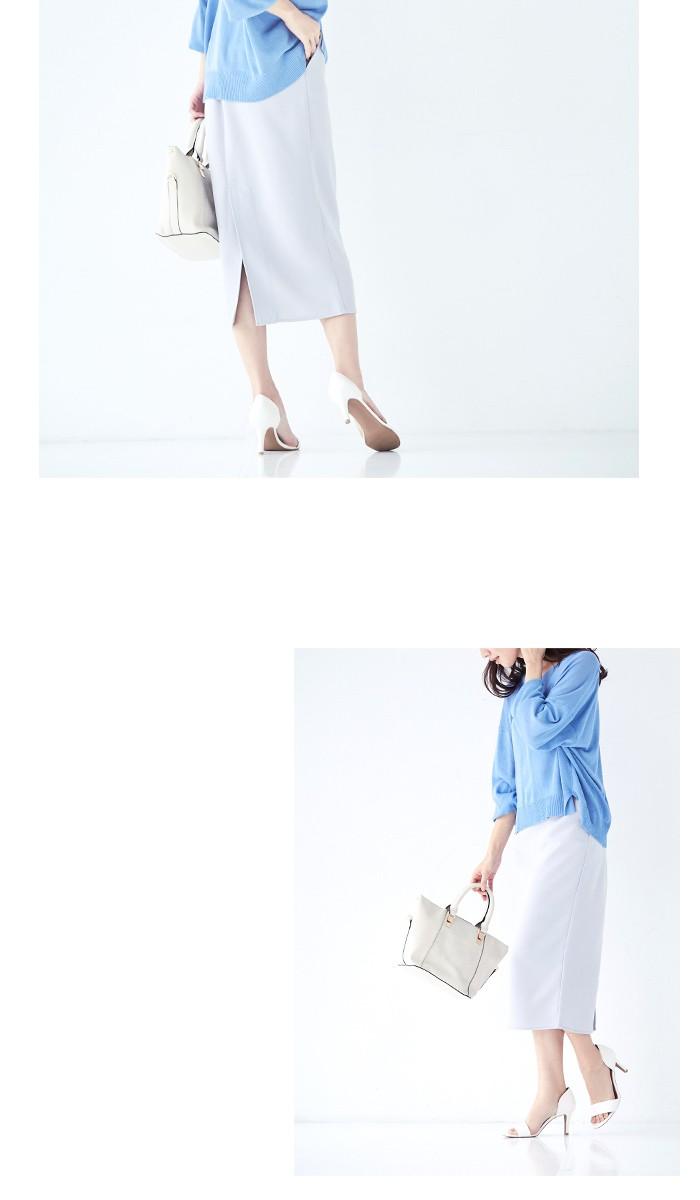 ミディアム丈タイトスカート3