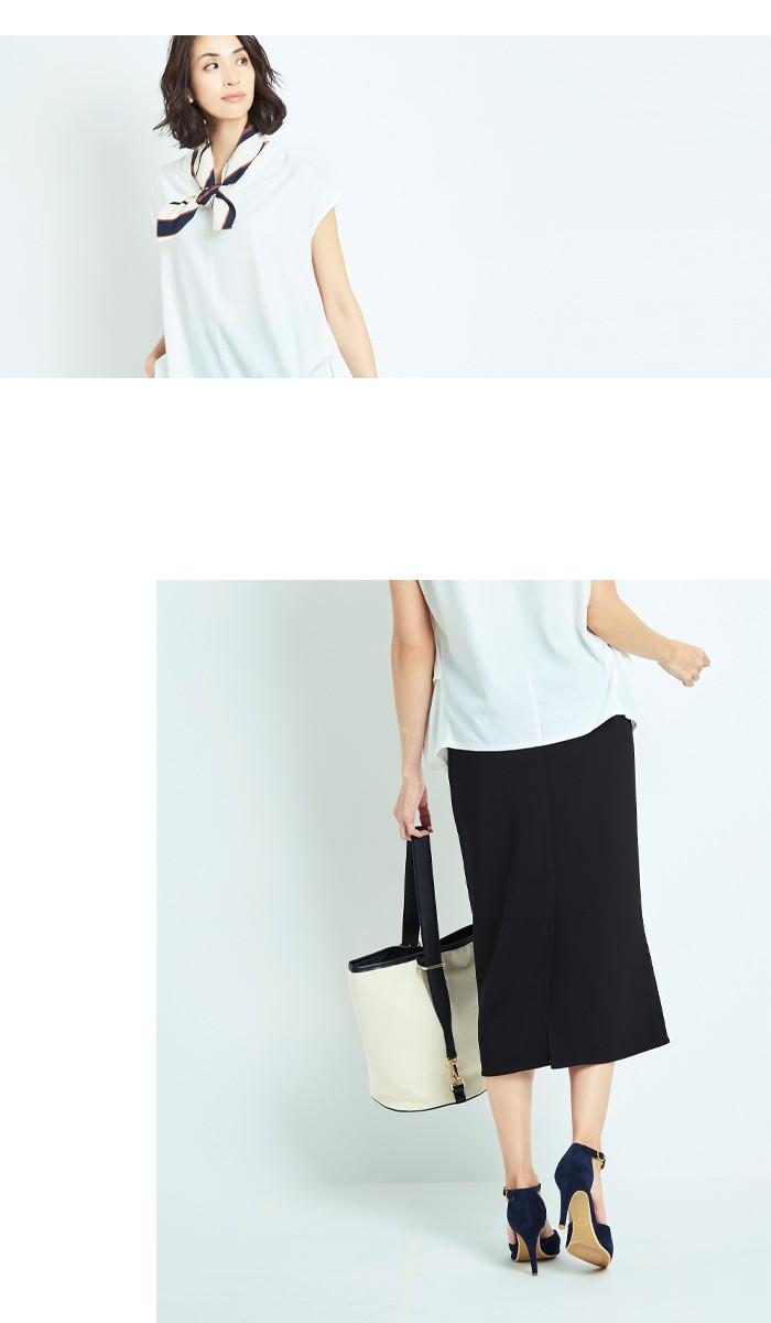 ミディアム丈タイトスカート11