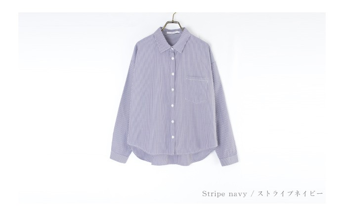 無地&ストライプシャツ13