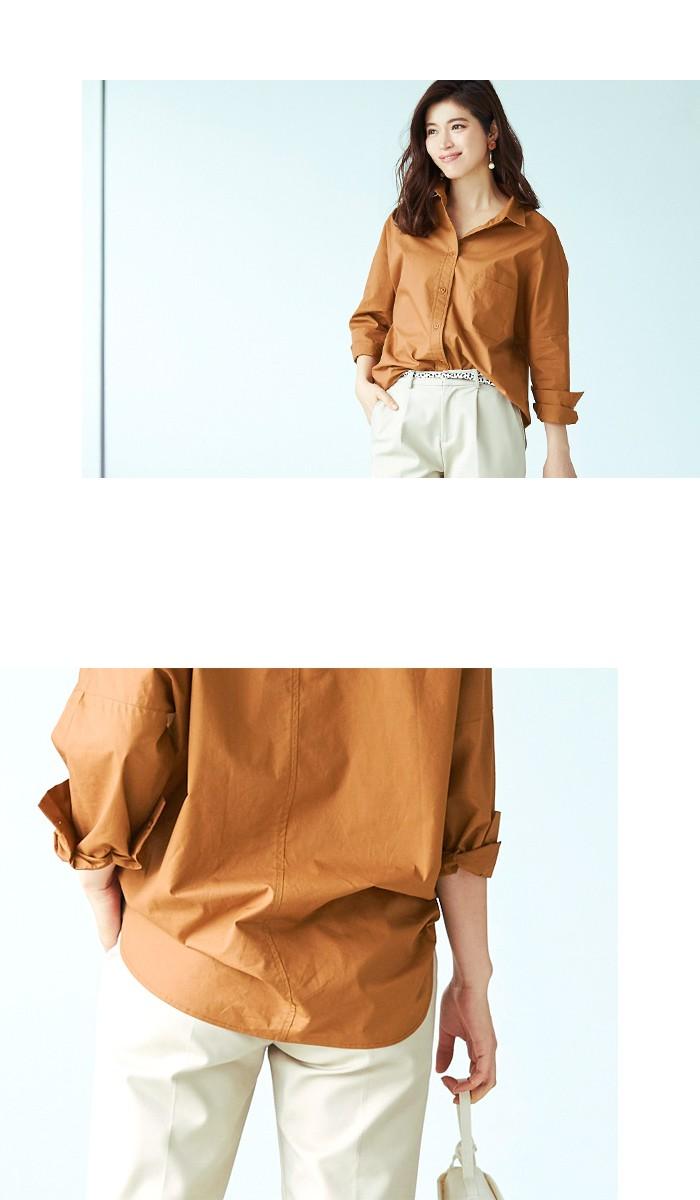 ドロップショルダーシャツ5