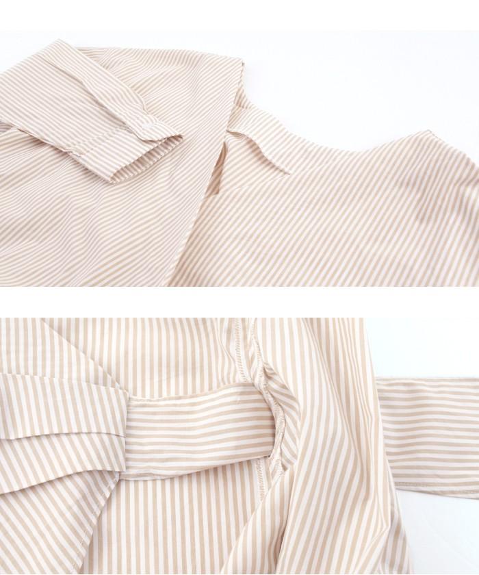 2wayカシュクールリボンシャツ15