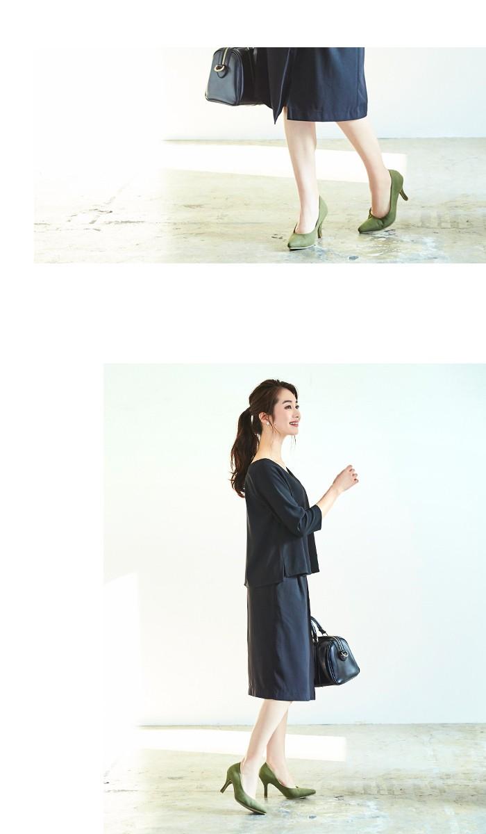 ラップ風スカートセットアップ11