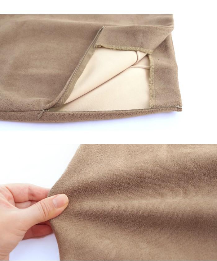フェイクスウェードタイトスカート15