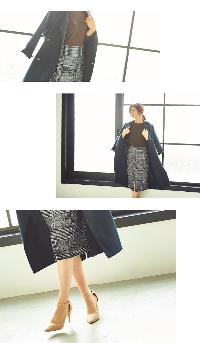 フロントスリットパターンタイトスカート5