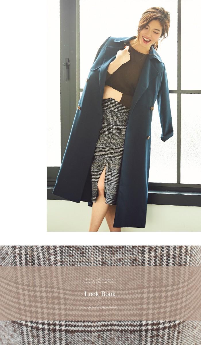 フロントスリットパターンタイトスカート6