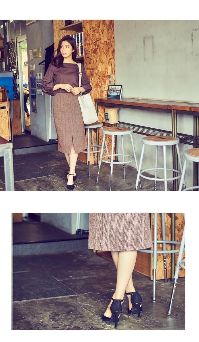 フロントスリットパターンタイトスカート7