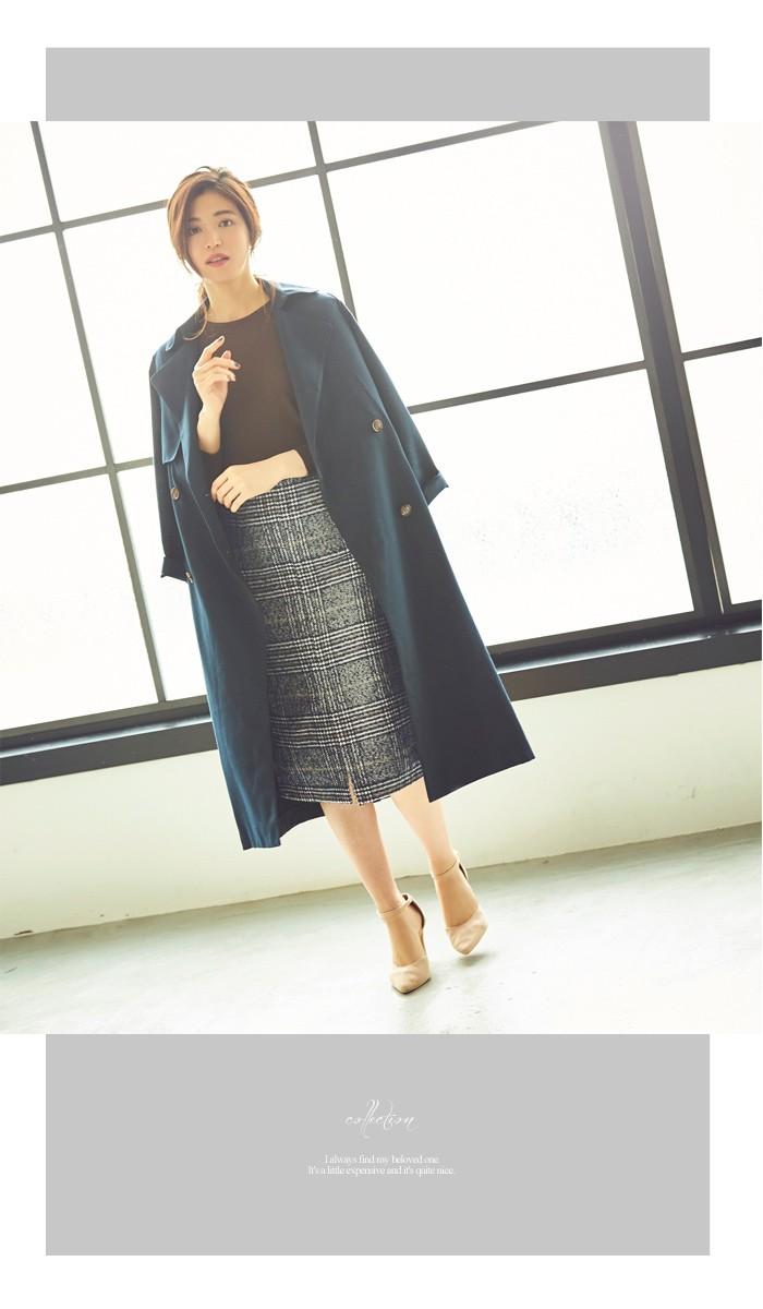 フロントスリットパターンタイトスカート11