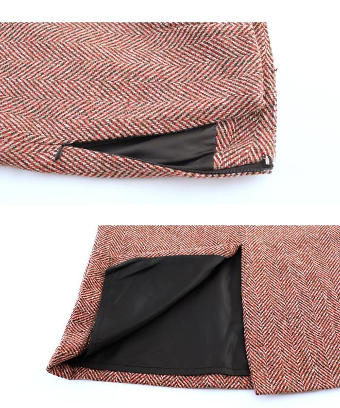 フロントスリットパターンタイトスカート15