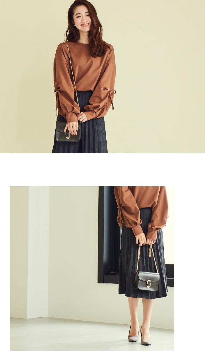プリーツニットスカート6