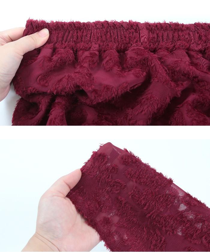 花柄ジャガードスカート15