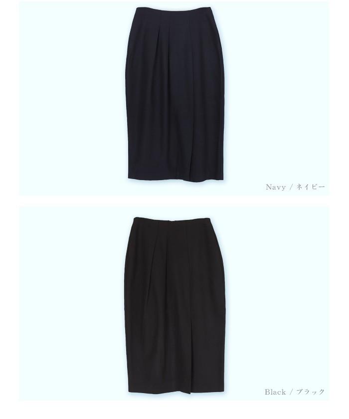 タックスリットミドルタイトスカート14
