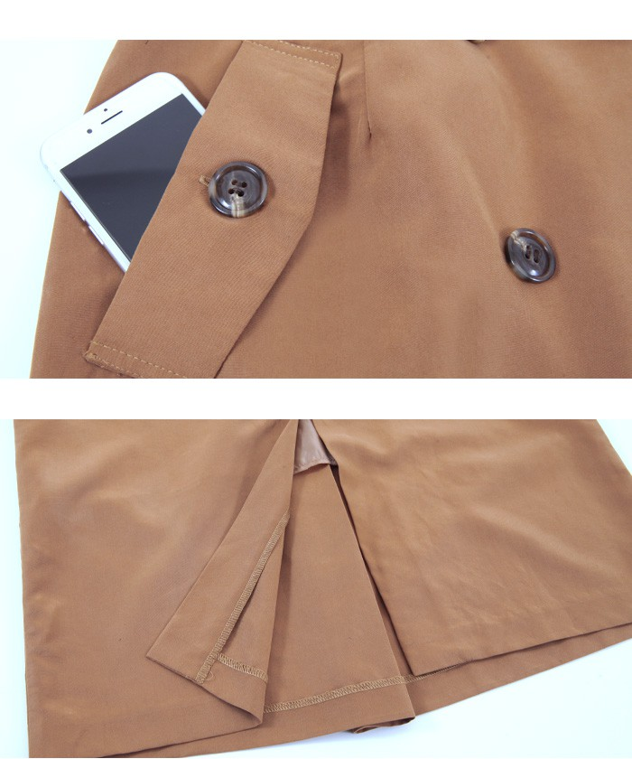 トレンチ風タイトスカート15