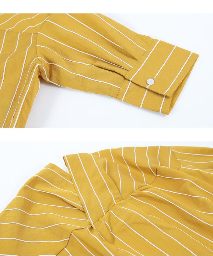 バックタック抜け衿オーバーシャツ15